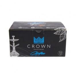 Уголь кокосовый Crown Air Flow 1 кг (72шт)